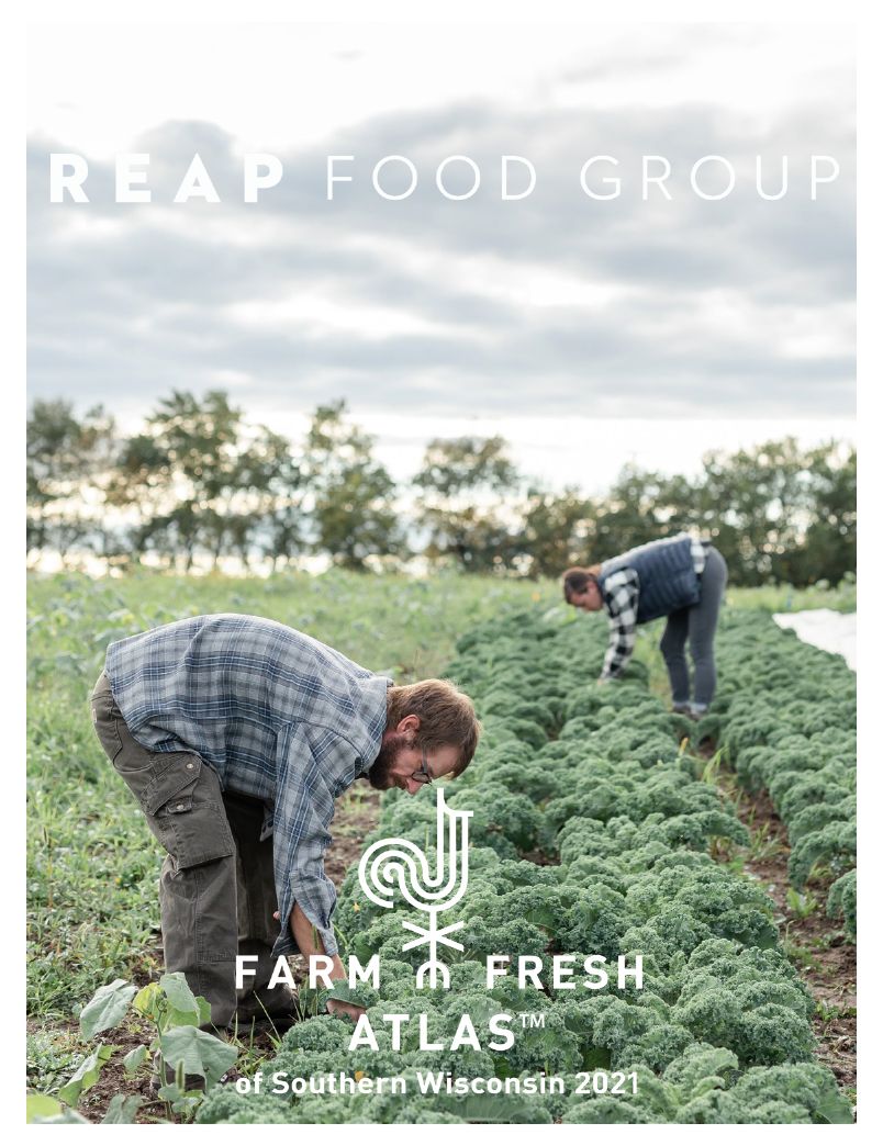REAP Food Group Farm Fresh Atlas TM of Southern Wisconsin 2021 cover